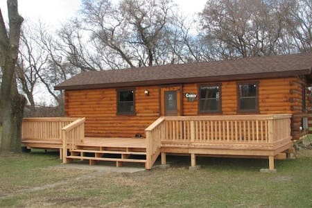 Deluxe Cabin in Southern Tier of NY - Wellsville - 小木屋