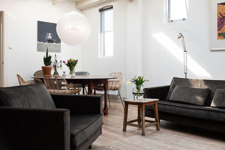 The Big Sleep: beautiful penthouse in Groningen