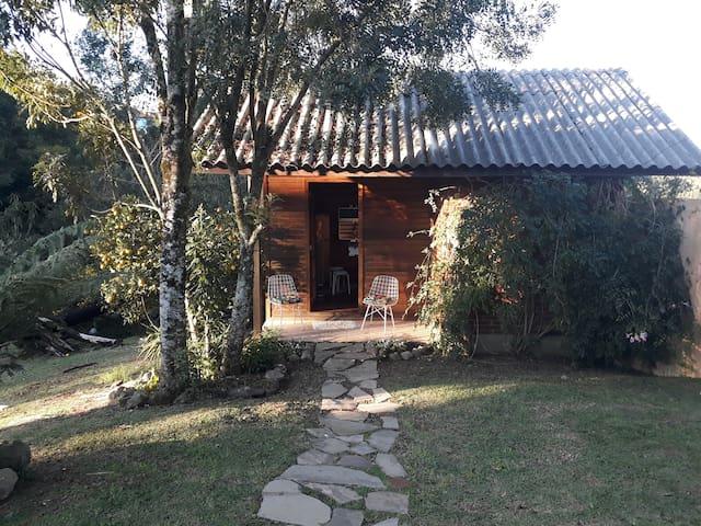 Casa com vista. á 1.5 km do Lago Negro