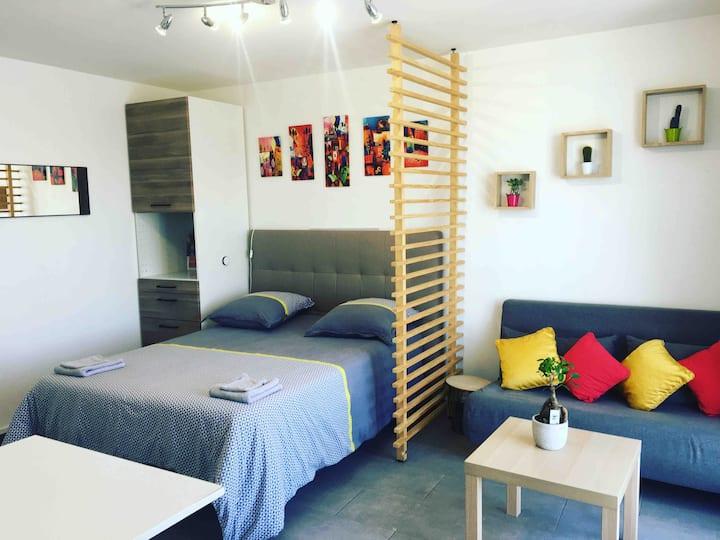 Suite Athéna - Balcon et parking gratuit