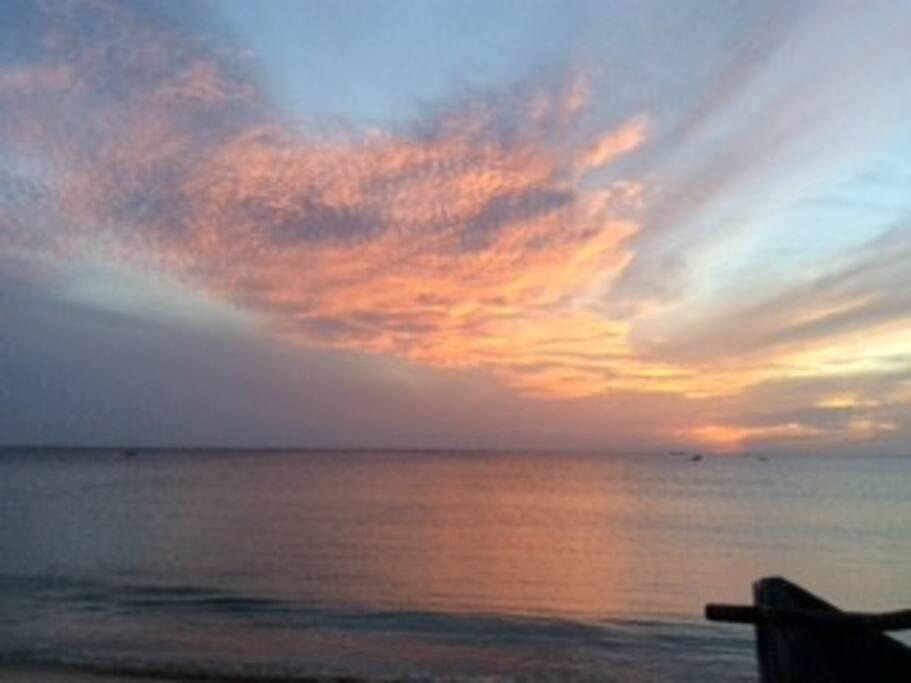 Sunrise - Dutch bay