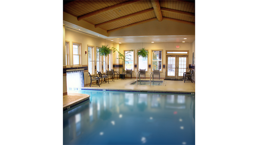 Lake Tahoe Resort Indoor Pool