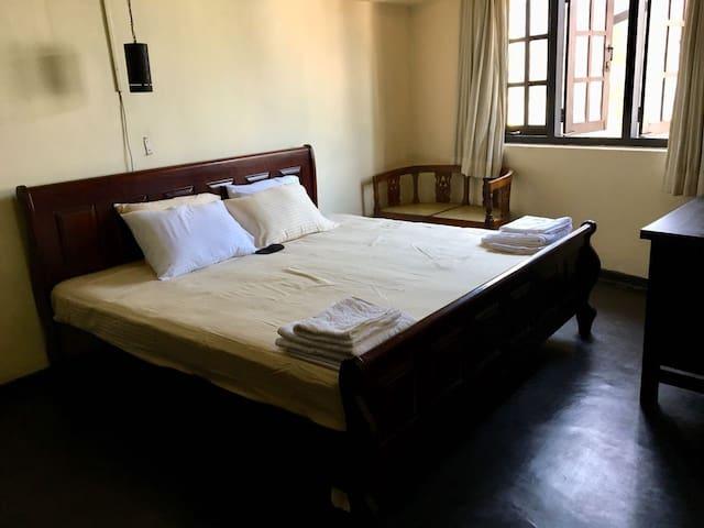 Contemporary Room in Antique  Bungalow