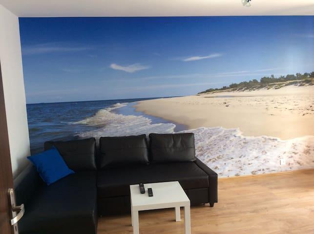 Piękny i wygodny apartament niedaleko plaży i lasu - Hel - Wohnung