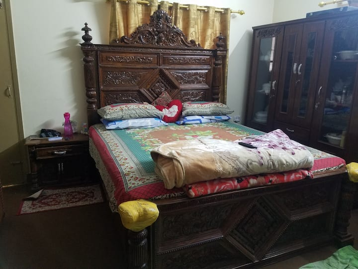 Shared room in a home