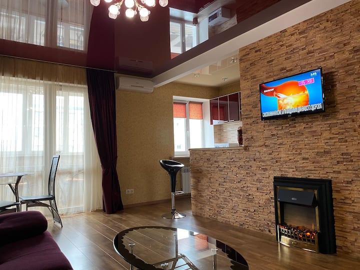 New Apartment with Panoramic views on Nauki Avenue