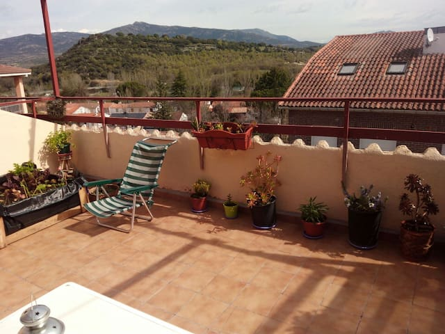 Apartamento Sierra Madrid :  Views - Guadalix de la Sierra - Apartment