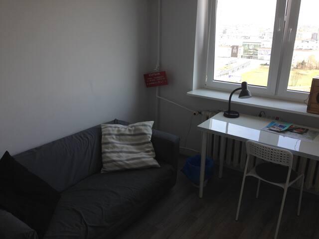 Nowoczesny pokój w chmurach na 16 piętrze - Poznań - Apartment