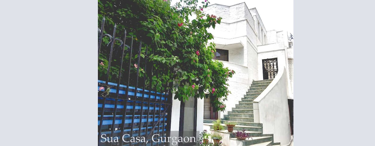 Private Room in Gurgaon - Malabar Room, Sua Casa.