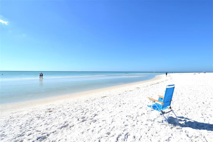 #1 Beach in US - Siesta Key Beach, a 2 block walk
