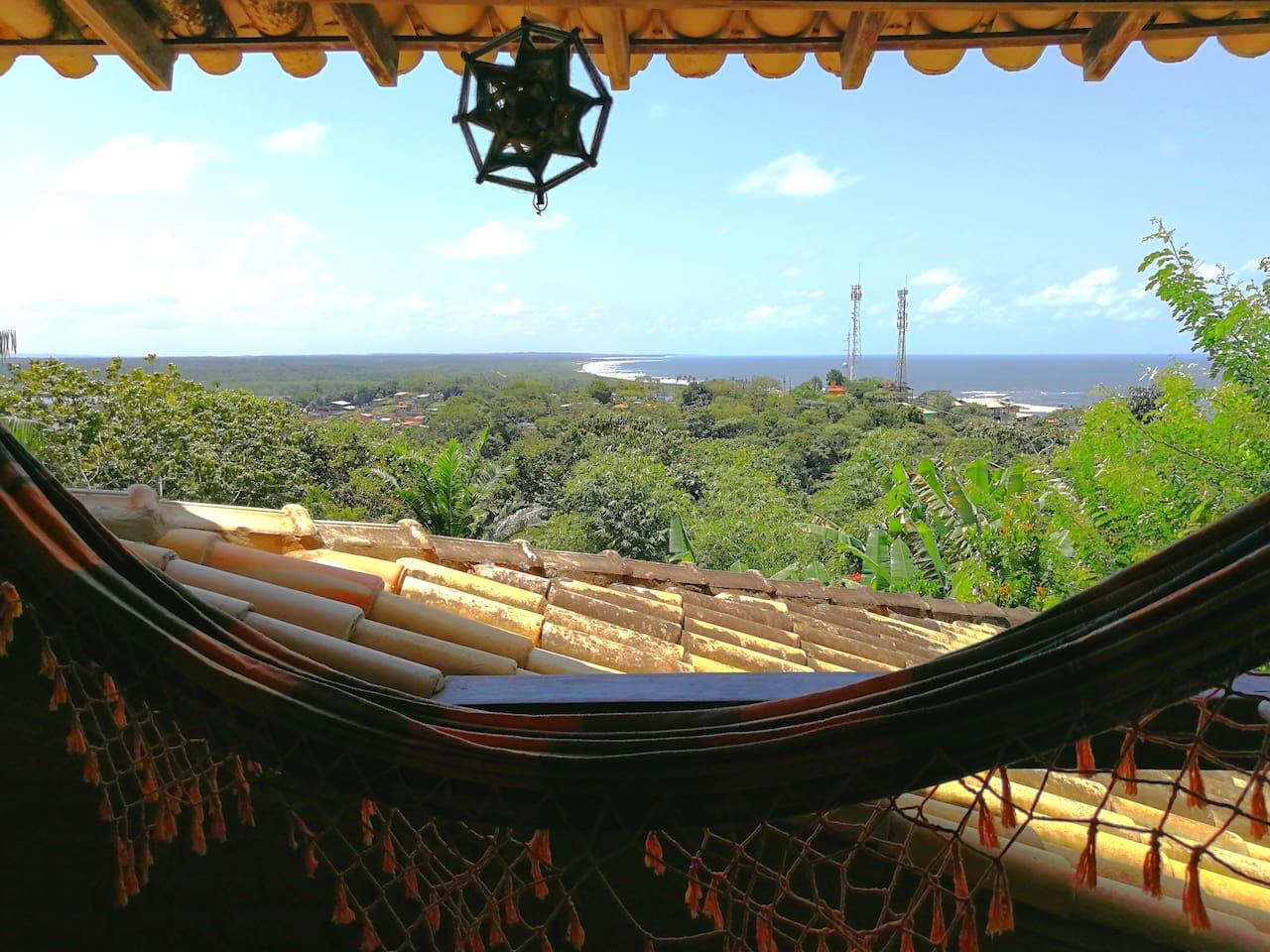 Suítes com vista para o mar e Rio de Contas
