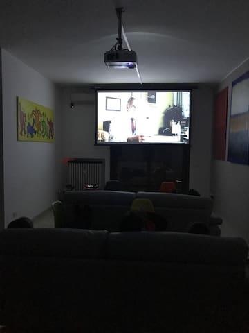 Living room - Cinema version