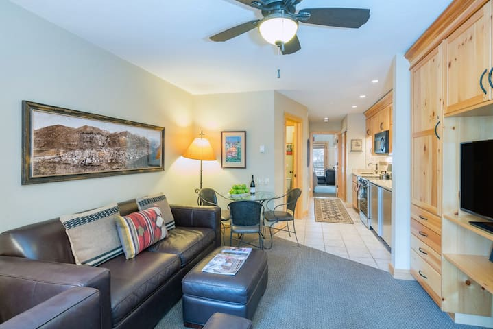Viking Lodge 212 - this lovely, remodeled one bedroom Viking Lodge condo offers a prime Telluride town location.