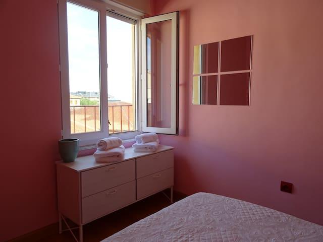 Window to the terrace Bedroom 2