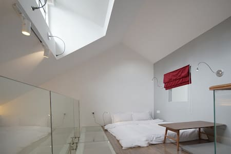 中山公园百年洋房,时尚loft,浪漫私享大露台 - Villa