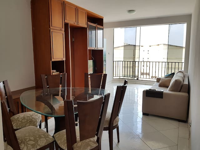 Apt completo 3 quartos sendo 1 suite - Goiânia 2