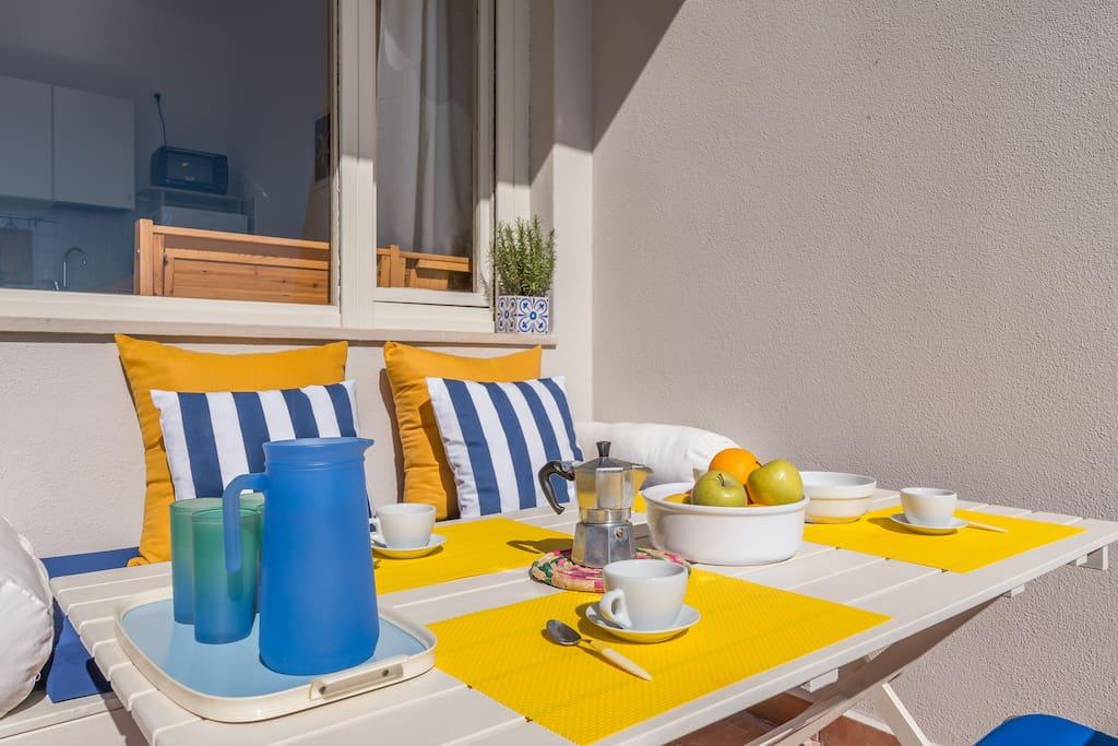 Colazione mediterranea - Mediterranean Breakfast