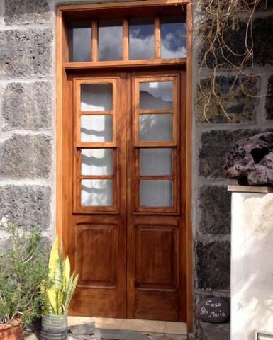 Uriges Studio mit Terrasse in Valle Gran Rey