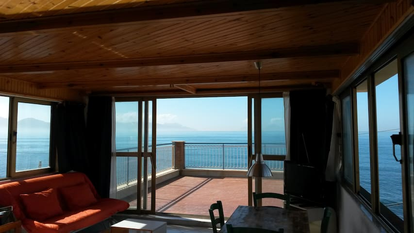 Terrace of the Stilt House /-|-\ ...landed! - Torre del Greco