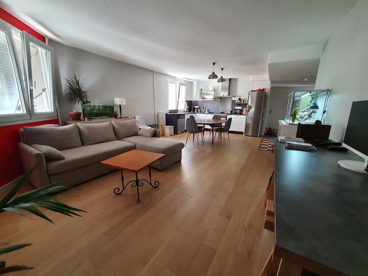 Appartement lumineux partagé (plein centre)