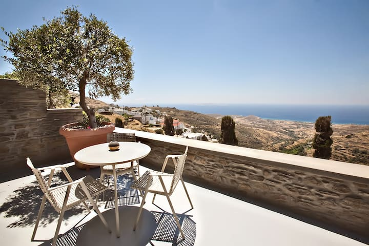 Executive Suite Sea View | Aeolis - Triantaros - Apartment