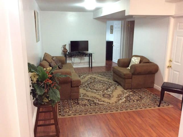 Clean and Comfortable Basement Apartment