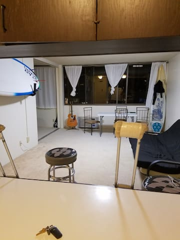 7th floor, 1 bedroom apartment. Center of Honolulu - Honolulu - Lägenhet