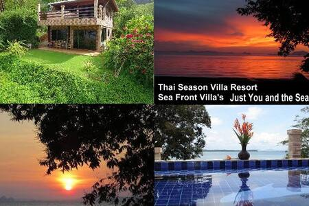 Chi Sea Front House with Pool 1 - Ko Lanta Yai - Hus