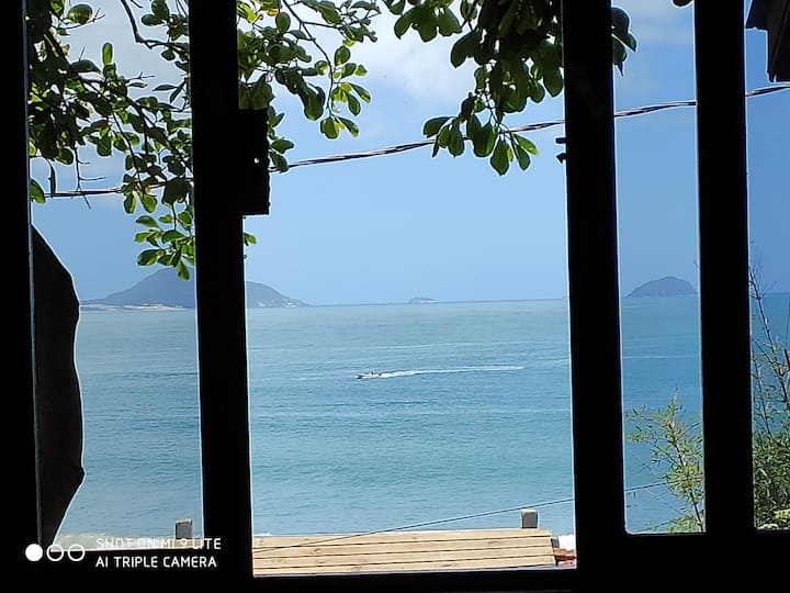 B Vista pro Mar, Café da manhã, Bilhar, Pranchas!