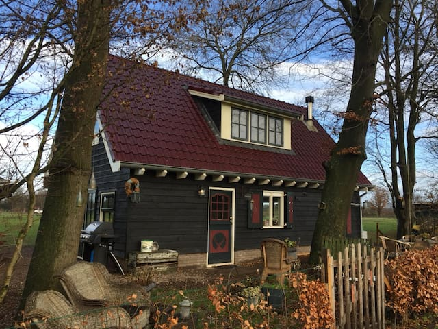 Veluwe detached house with fireplace
