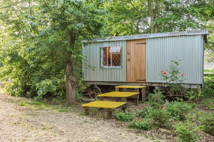 Rosehip - Charming traditional shepherd hut