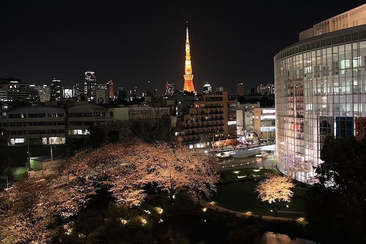 On Sale!! @Roppongi AR Tokyo Tower MAX 8 PP WF - Minato - Apartment