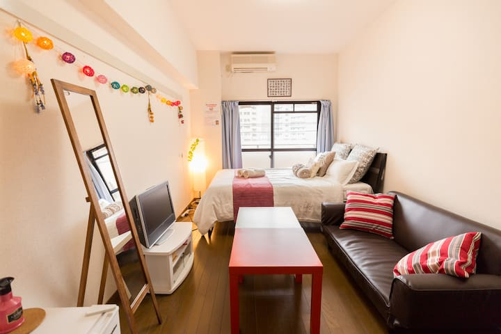 3minute from hakata station! &Pocket WiFi!