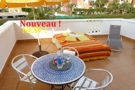 Brand new luxury naturist apartment in Vera Playa - Vera - Apartamento