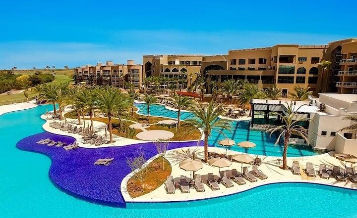 Suíte Thaiti Luxo. Malai Manso Resort
