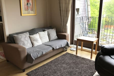 2 bedroom WestEnd with balcony and private parking