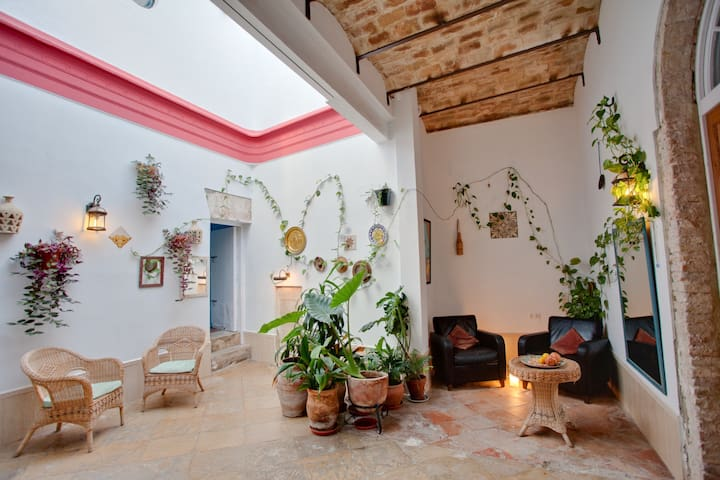 Double room with private bathroom - Arcos De La Frontera - Hus