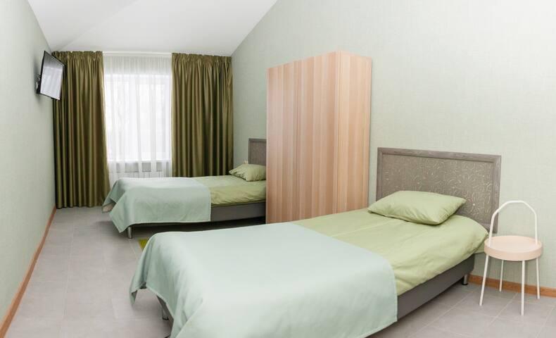 Стандарт с раздельными кроватями