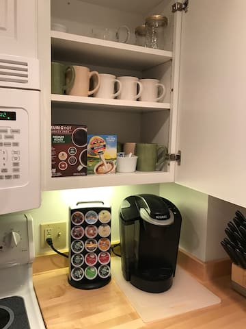 Keurig Coffee/Tea Nook