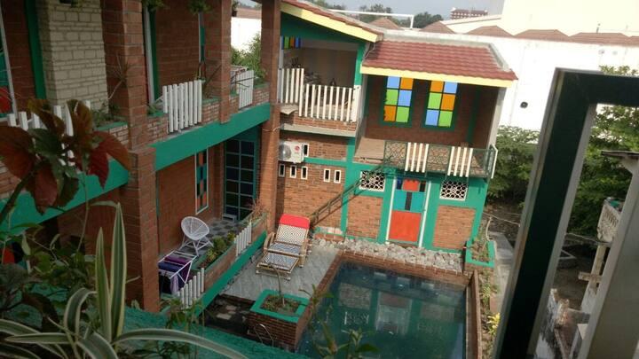 room 2-hostel. Omah Ndeliq Jogja