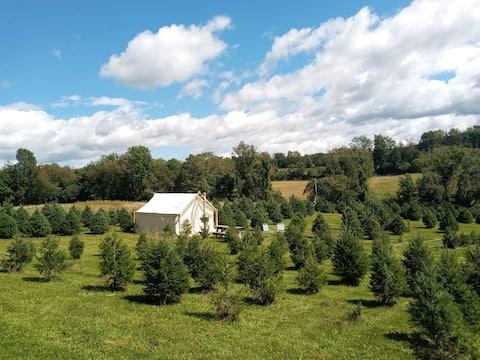 Christmas Tree Farm Getaway