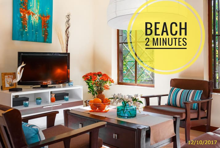 ♥ Beach 2 minutes! ♥ Privat Villa ♥Beach line