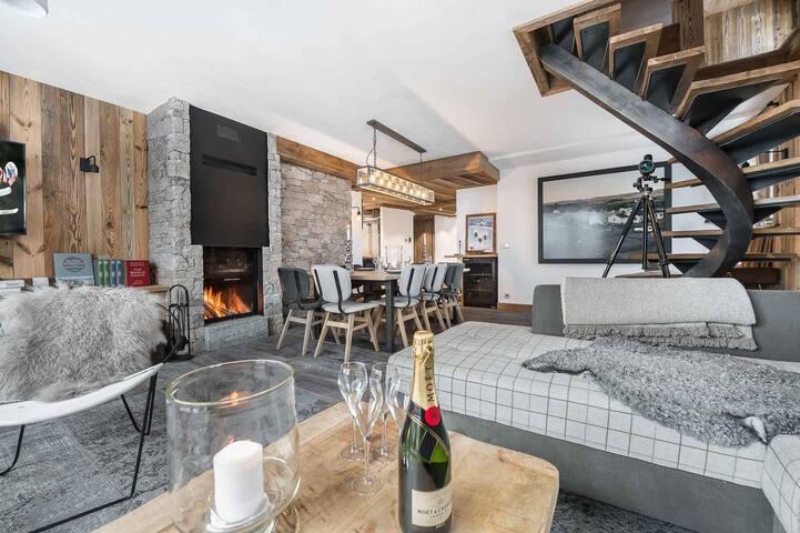 Duplex apartment La Cannadienne 8 - Val-d'Isère - Apartamento