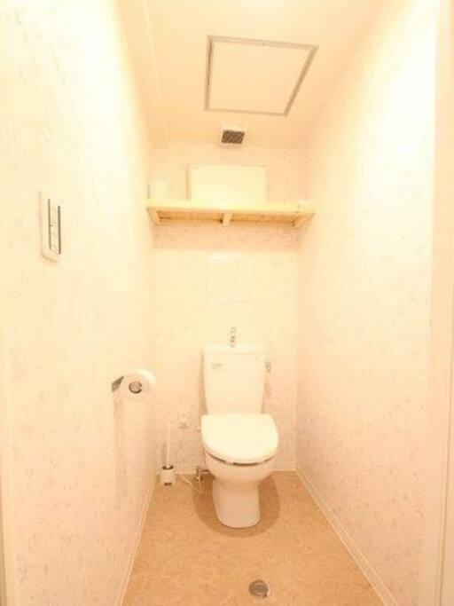 clean toilet !