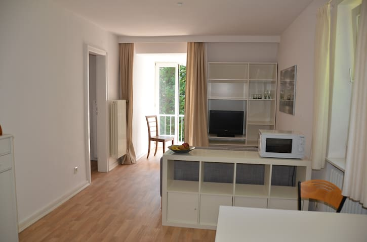 Apartment near the river Elbe west of Hamburg
