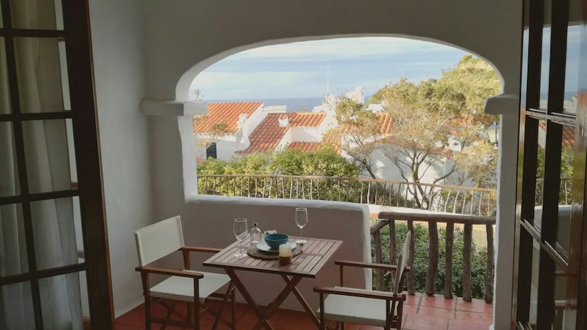 Fantastic apartment with see view in Fornellsbeach - Platges de Fornells - Apartemen