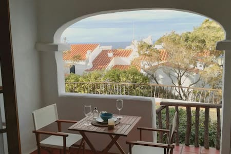 Fantastic apartment with see view in Fornellsbeach - Platges de Fornells - Wohnung