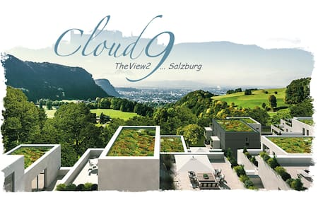 Cloud9 TheView2 ... Salzburg! Great Penthouse!