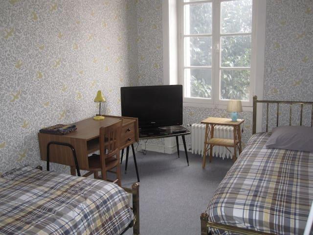 Chambre d'amis Maison de Charme proche gare/centre - Rennes - Ev