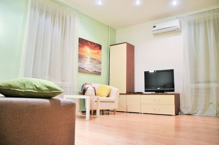 Двухкомнатная квартира в центре Москвы